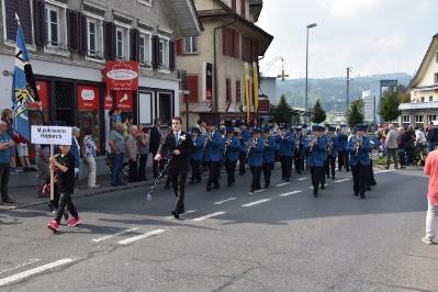 Parademusik Neuuniformierung Feldmusik Hochdorf, 24.9.2017_2